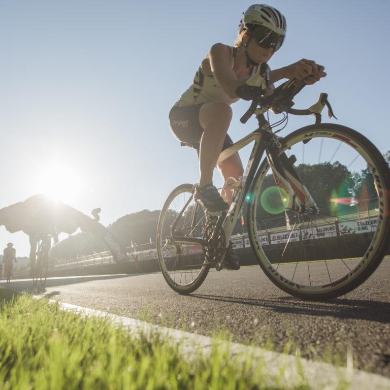 Rennradfahrer am Salzburgring