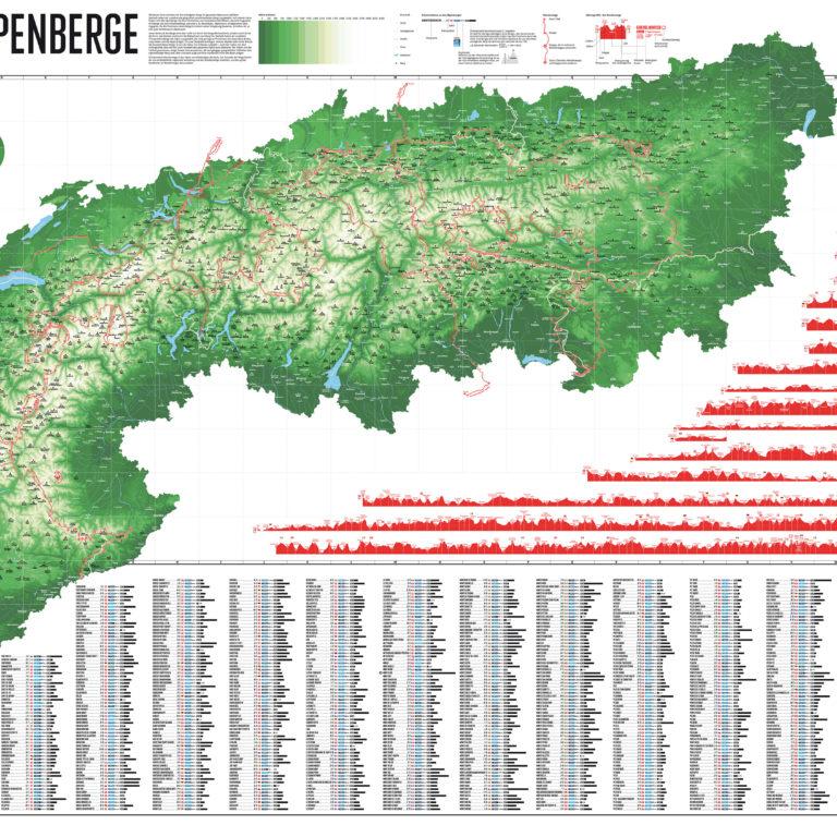 Alpenkarte Marmota Maps