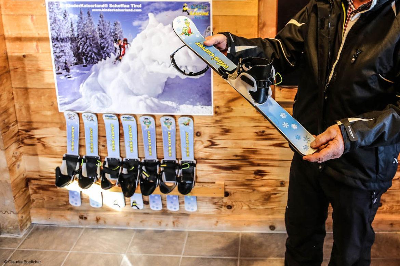 Mini-Carver der Skischule Scheffau