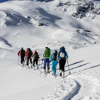 Skitouren Gletschercamp