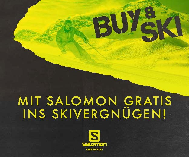buy and ski salomon