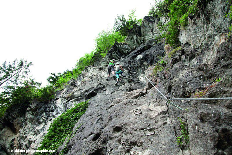 Klettersteig Zimmereben : Klettersteiggehen in mayrhofen