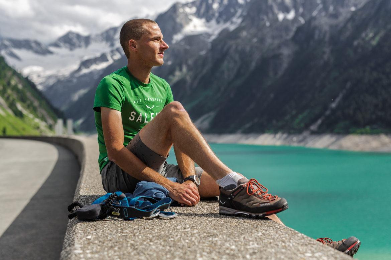 Klettersteig Outfit : Klettersteiggehen in mayrhofen