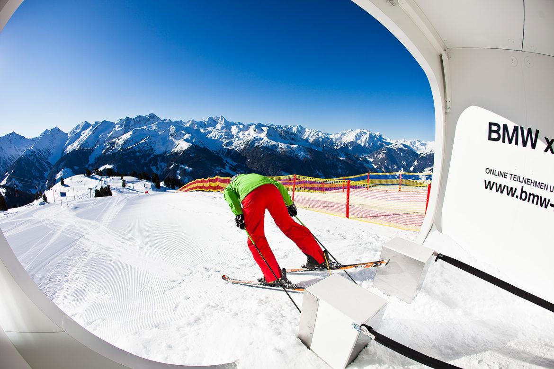 Skimovie Strecke Zillertal Arena