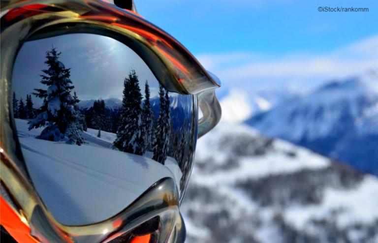 skibrille closeup