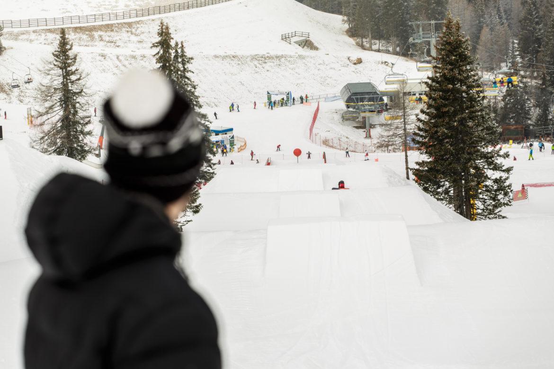 snow park freeski alta badia skigebiet