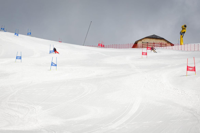 parallel slalom alta badia skigebiet