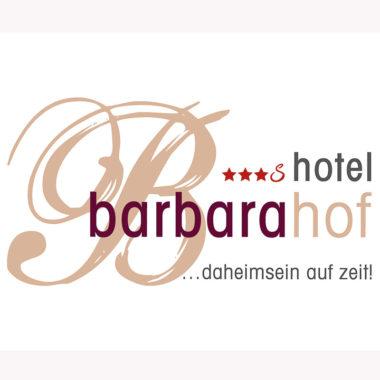 barbarahof saalbach logo