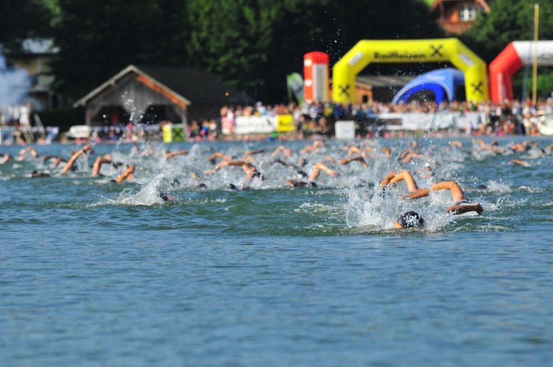 Schwimmen Trumer Triathlon