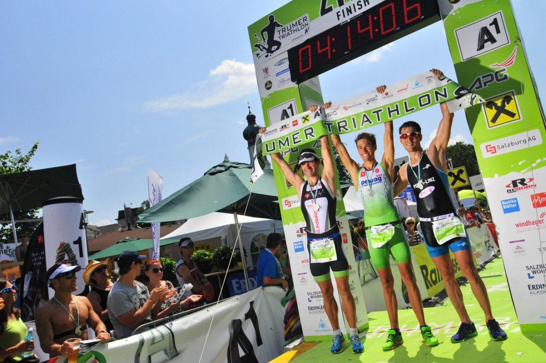Ziel Trumer Triathlon