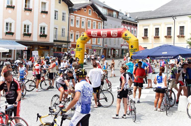 Zielbereich-Mondsee-Radmarathon