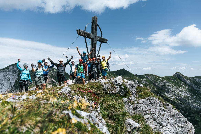Klettersteig Rakousko : Klettersteigcamps achensee