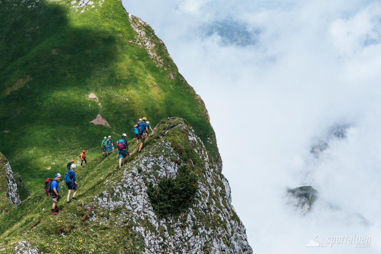 Klettersteig Achensee : Klettersteigcamps achensee 2018