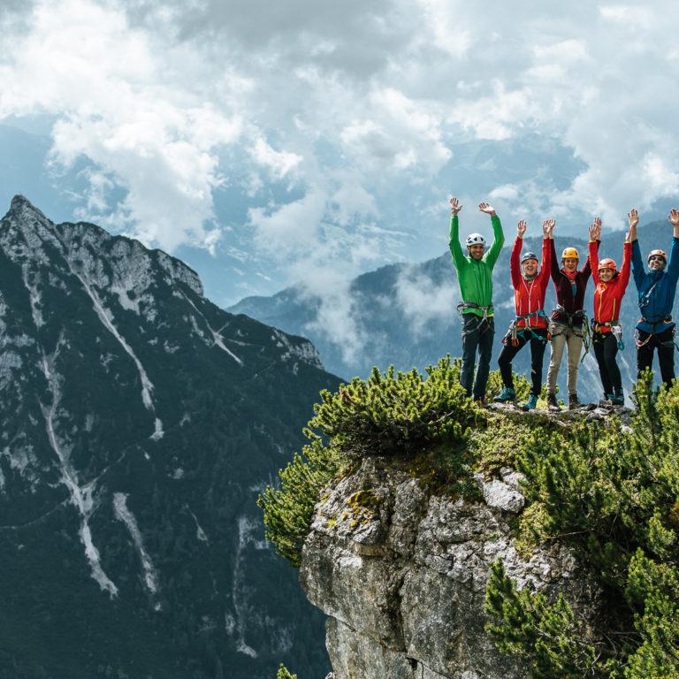 Klettercamp Rofan