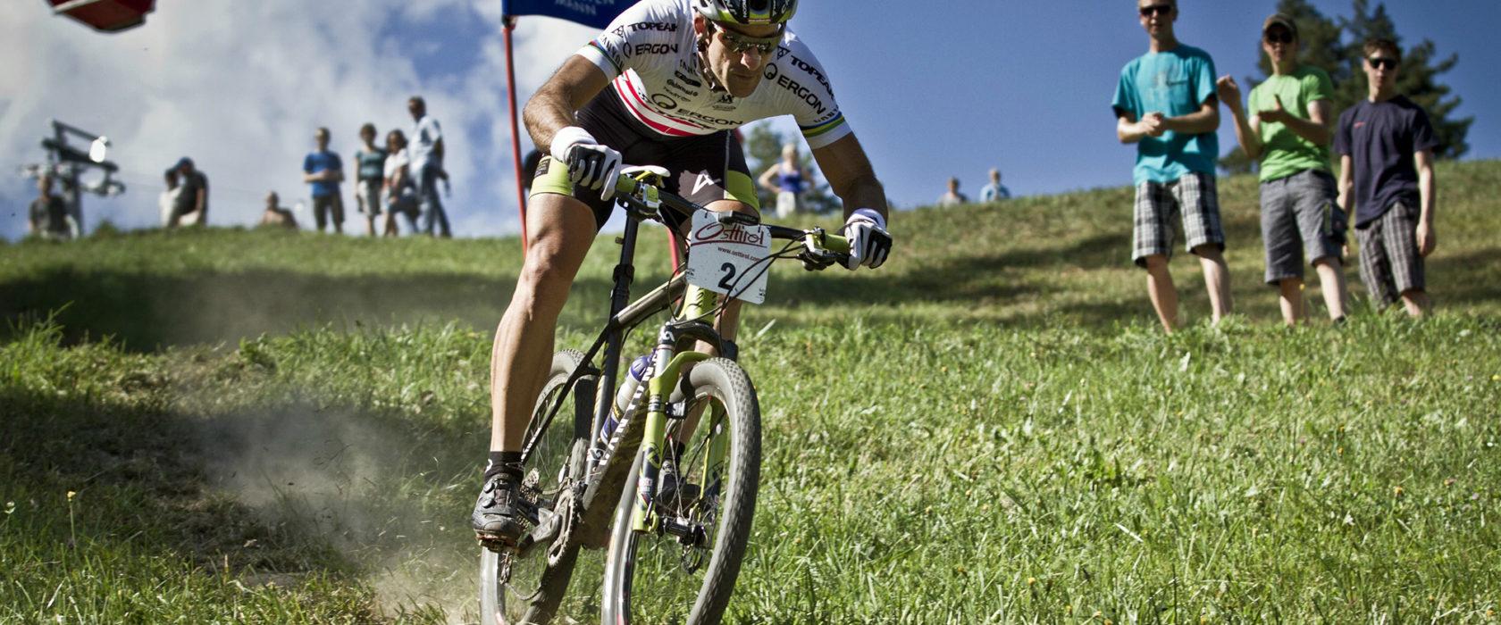 Mountainbiker Dolomitenmann