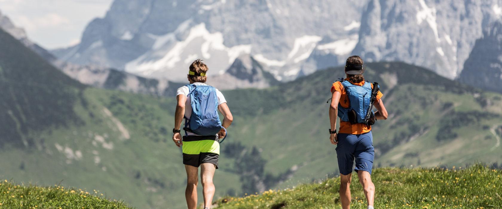 bergläufer alpen