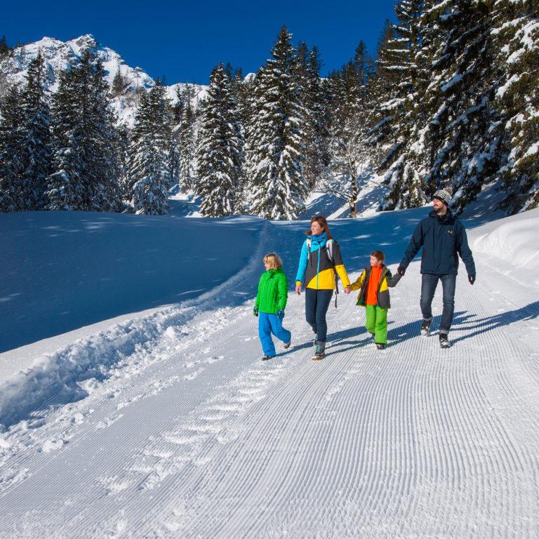 winterwandern auschau chiemgau