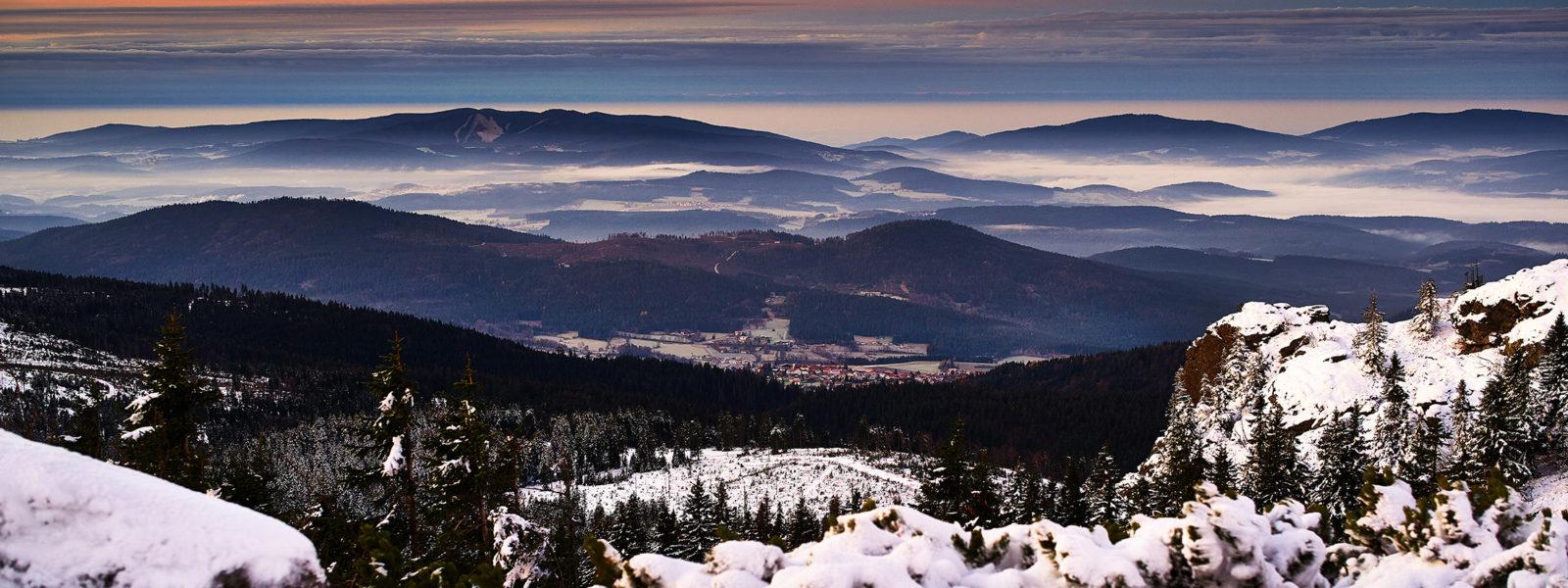 schneeschuhwandern ostbayern