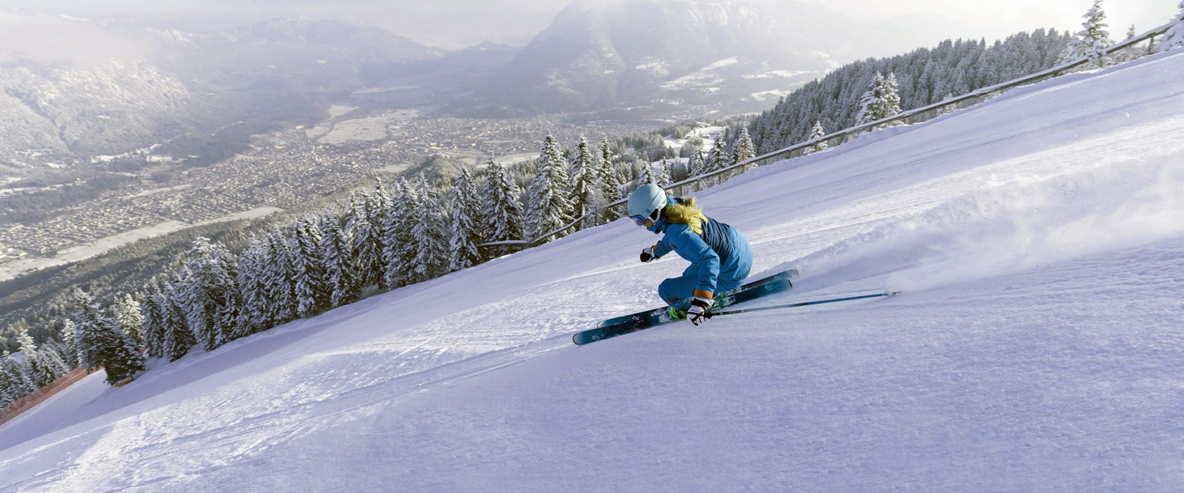 skifahren garmisch classic bayern