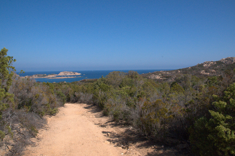 Meer-Laufweg-Sardinien