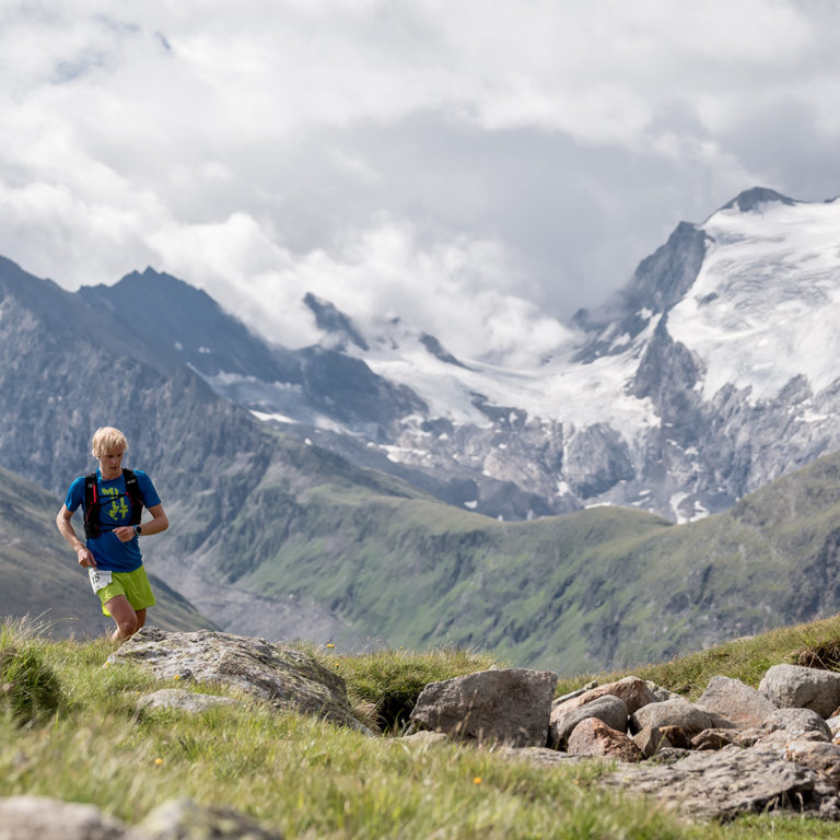 Gletscher-Trailrun