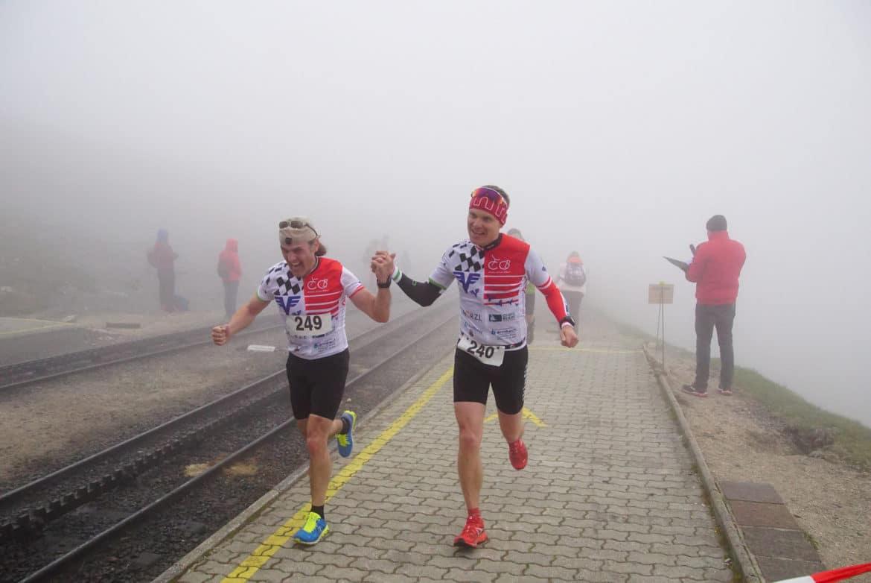 Läufer Schafberg Schafberglauf