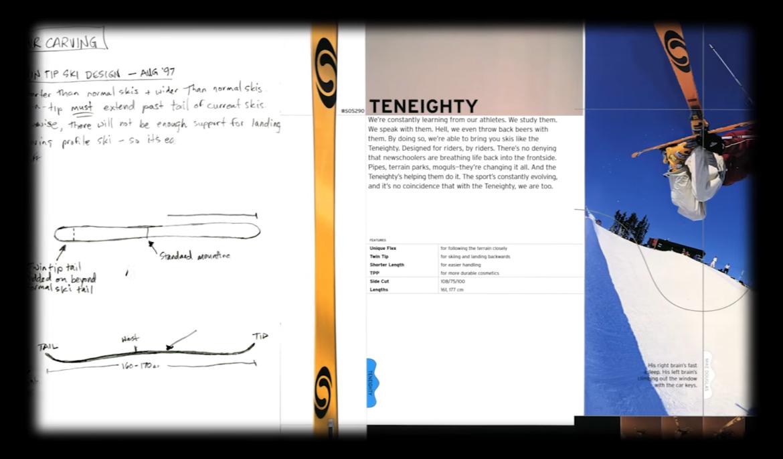 Salomon TenEighty Ski Konzept