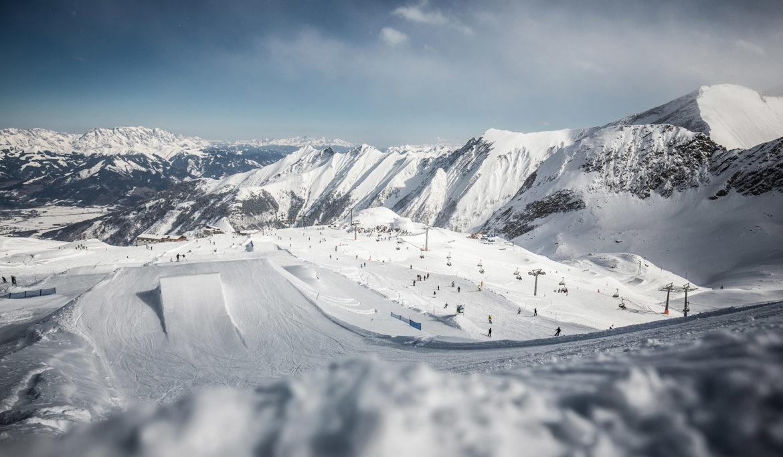 piste im skigebiet