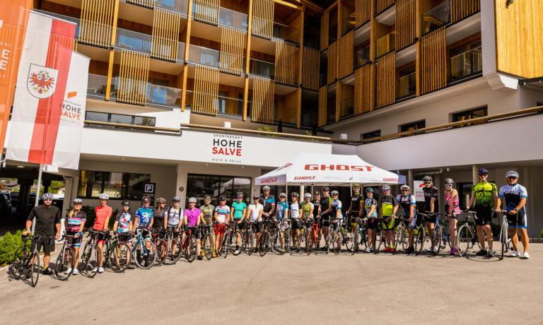 Triathloncamp Hohe Salve Rad Gruppenfoto
