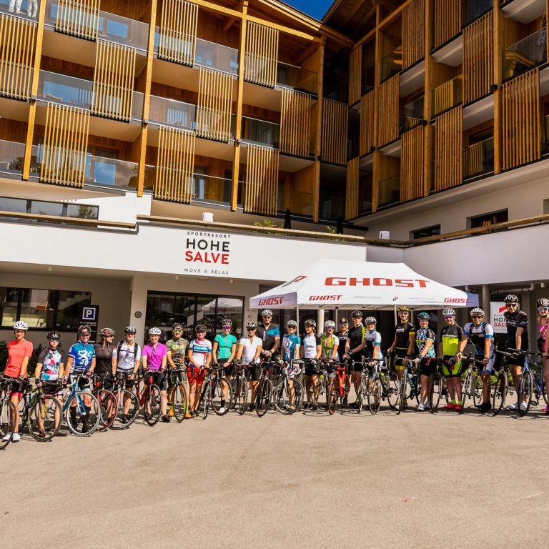 Triathloncamp Hohe Salve Rad Gruppenfoto