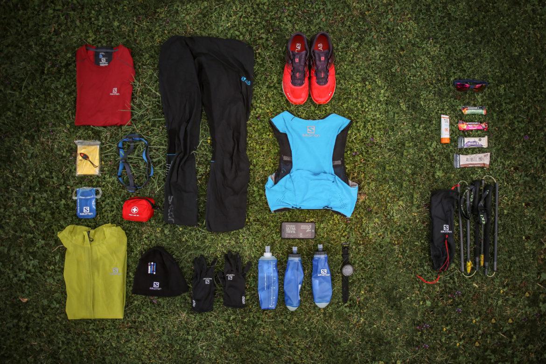 ausrüstung ultra trail