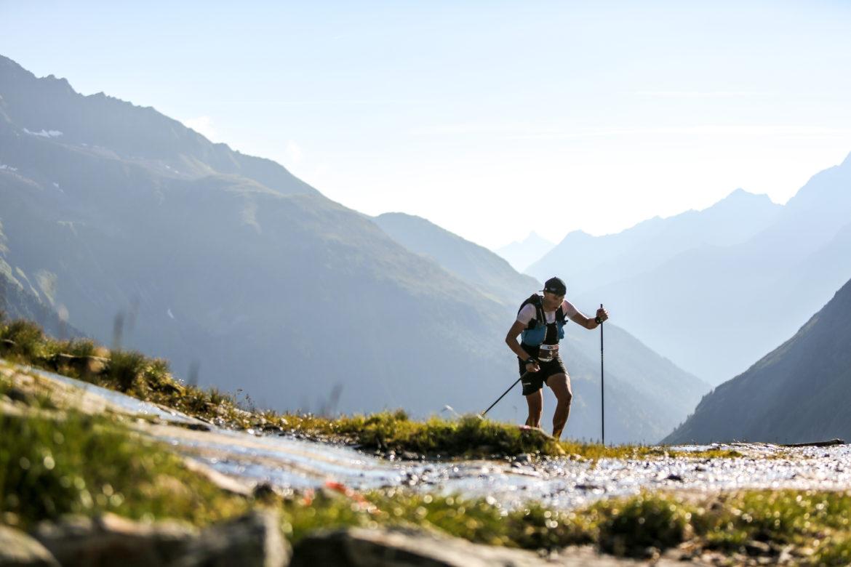 trail runner innsbruck berge