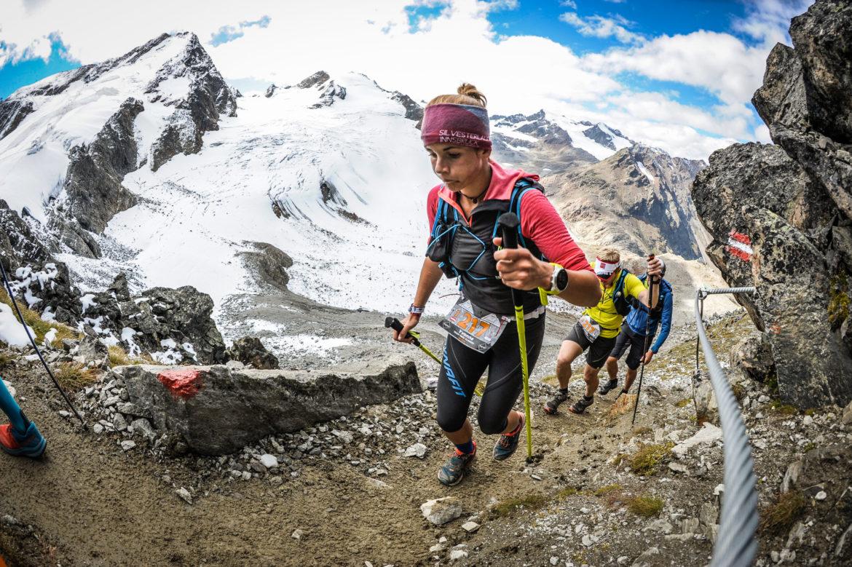 Aufstieg Transalpine Run