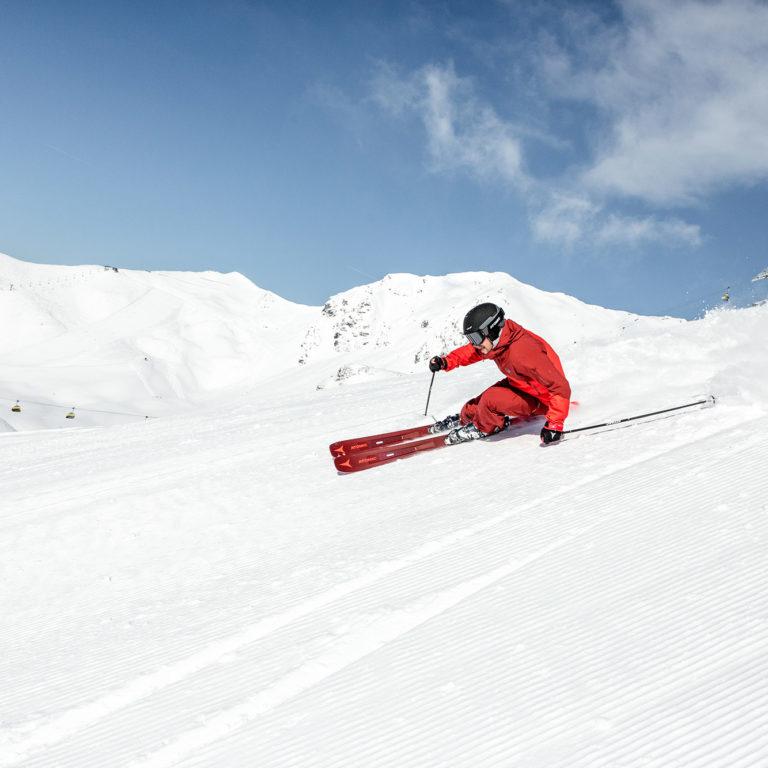Atomic Skifahren angepasste Skischuhe