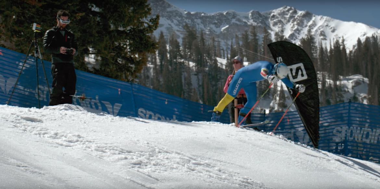 skier vs drone