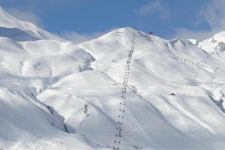 Lech Zürs Skigebiet