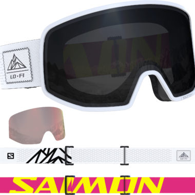 Salomon-Skibrille-LO-FI-White