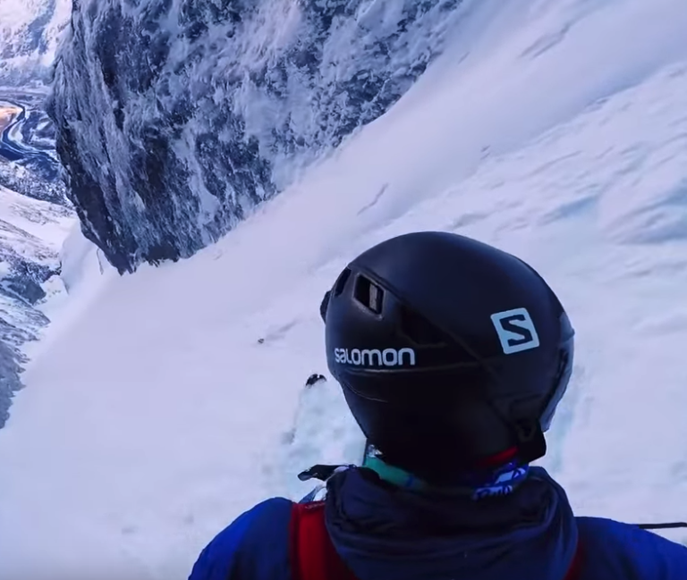 salomon tv kilian jornet troll wall