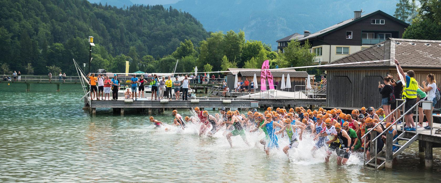 Start-Schwimmstrecke-Wolfgangsee-Challenge