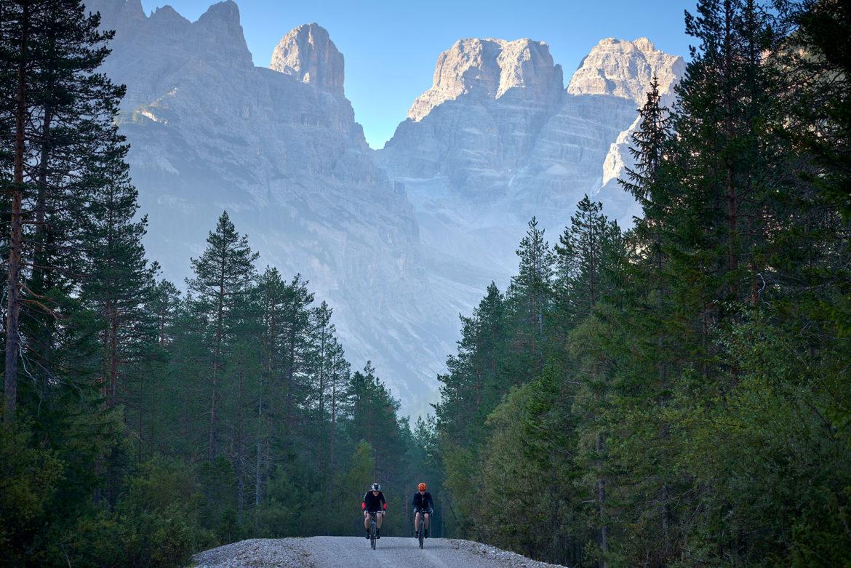 Rennradfahren-Dolomiten