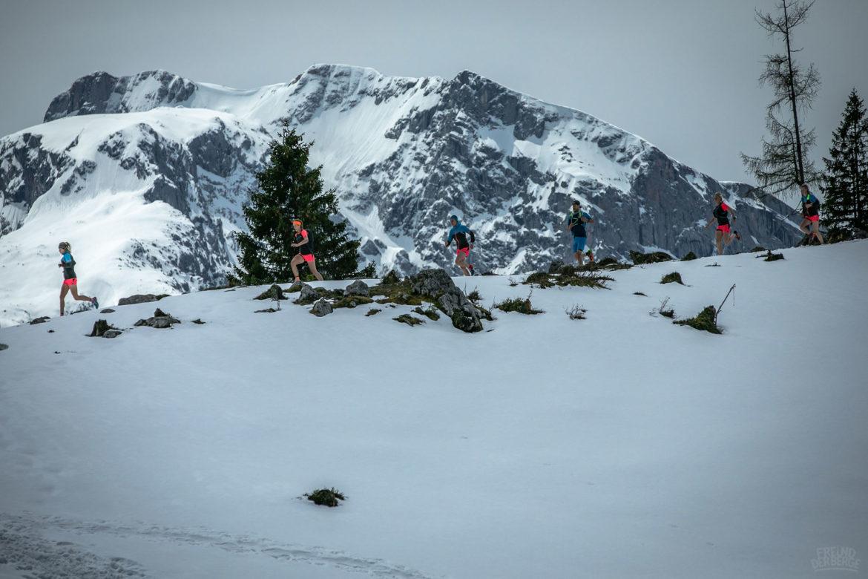 Trailrunning-schnee