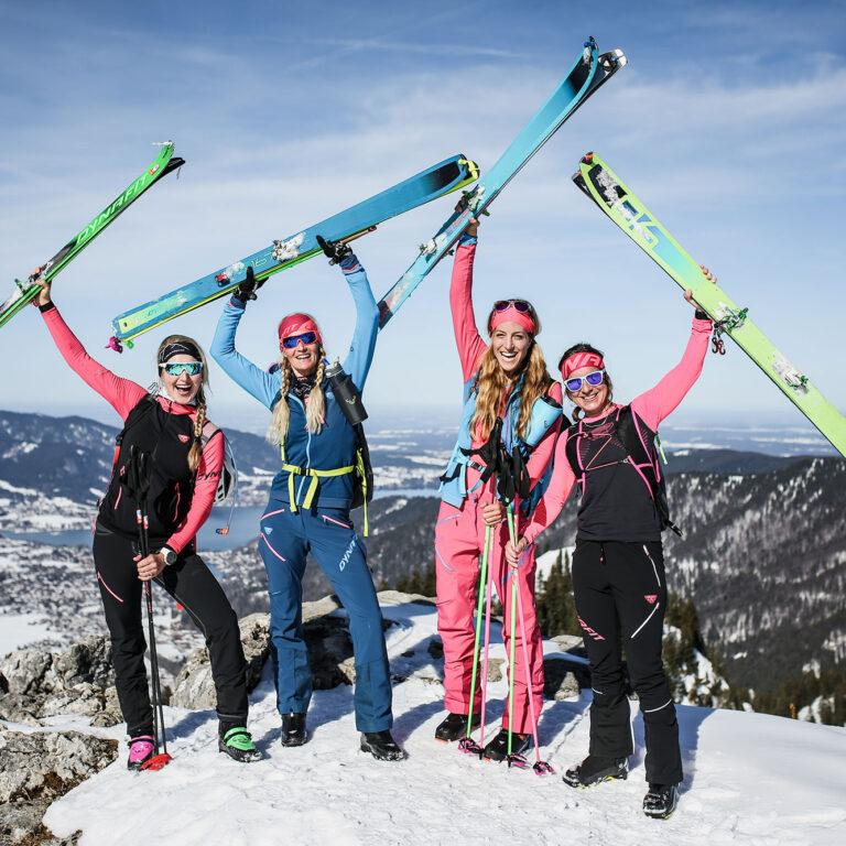 Skitourentypen
