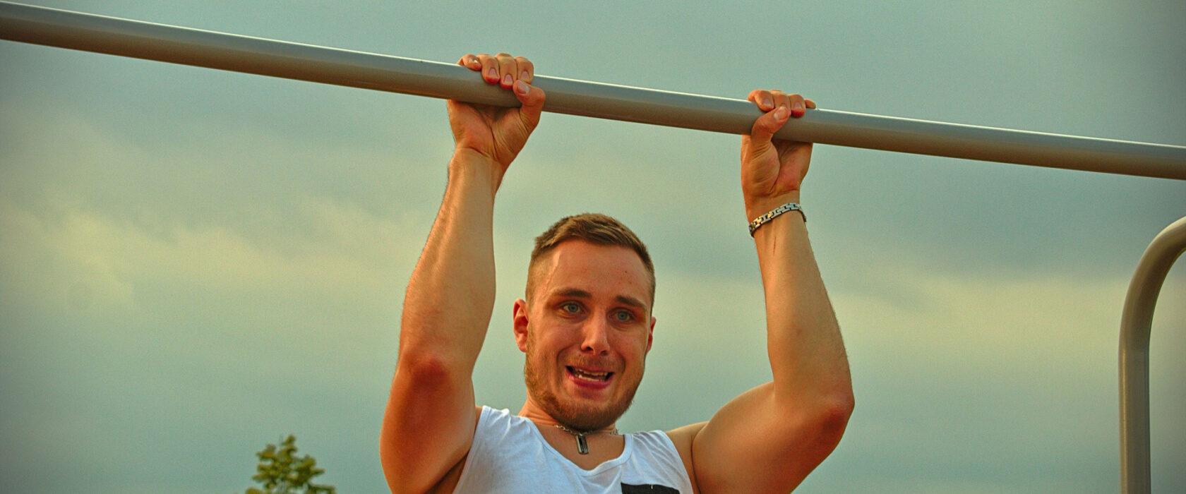 Klimmzug-Training