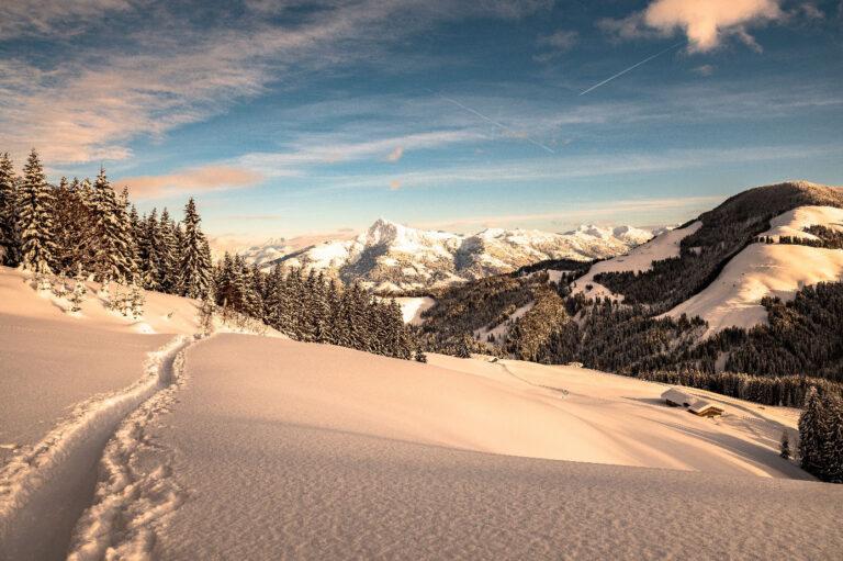 Landschaft-Kaisergebirge-Skitour
